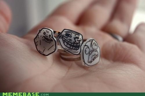 faces marriage rage Rage Comics rings - 4949390592