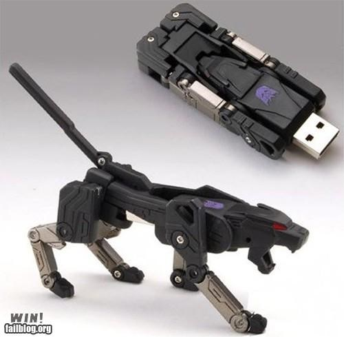data Hall of Fame nerdgasm technology transformers USB - 4949560576
