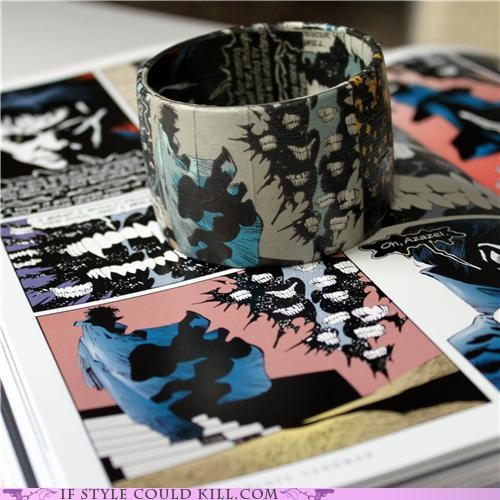 bracelets,comics,cool accessories,etsy,sandman
