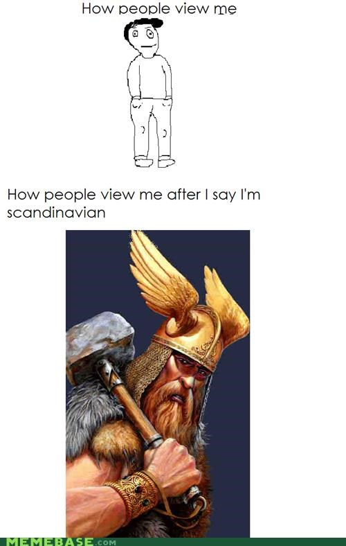 How People View Me,scandanavian,Thor