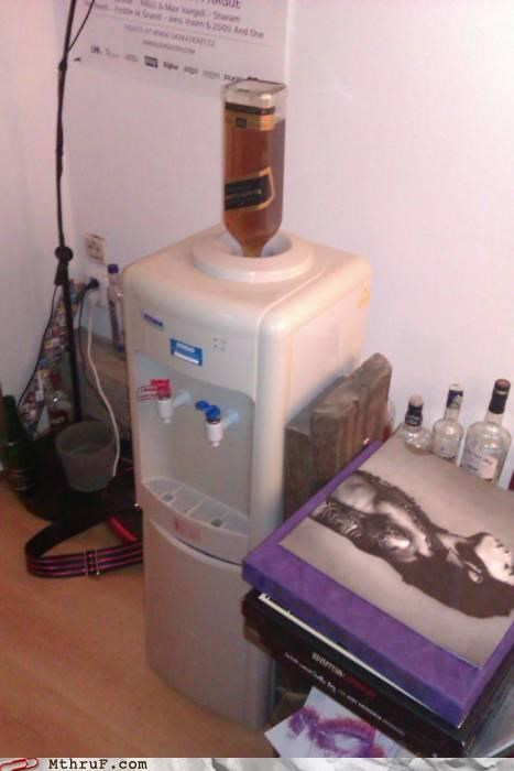 alcohol liquor water cooler