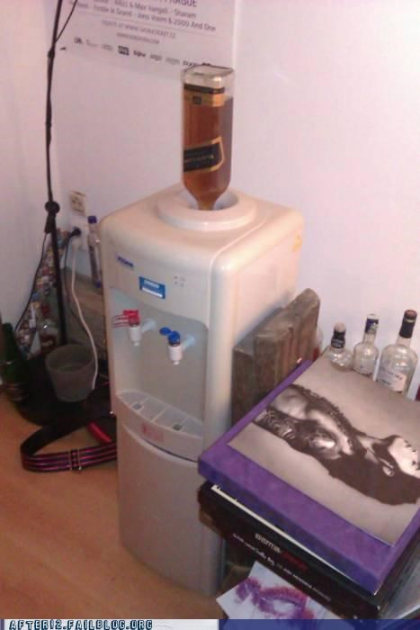 liquor,water cooler,work