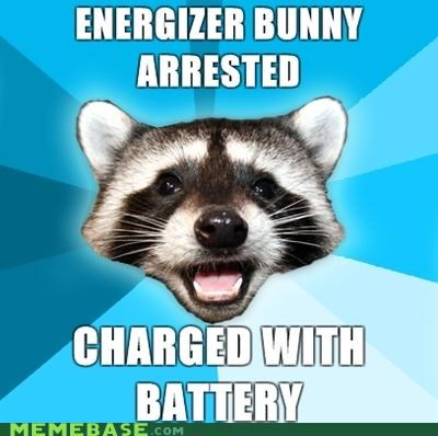 battery,bunny,duracell,energizer,Lame Pun Coon