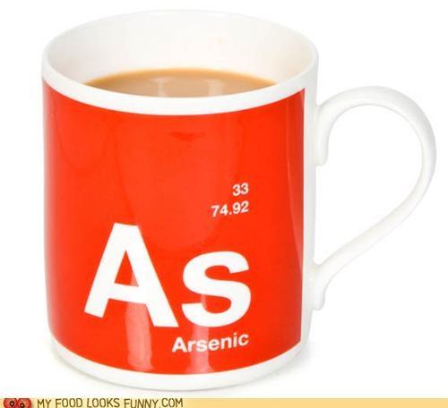 alibi arsenic coffee cup mug murder poison - 4950076416