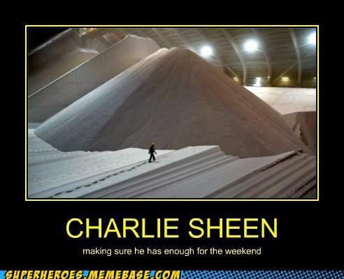 Charlie Sheen coke drugs hilarious weekend wtf - 4950267136