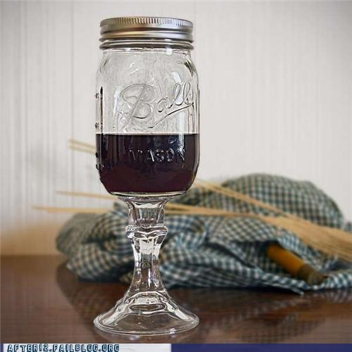 mason jar,wine,wine glass