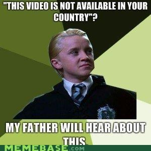 countries Father Harry Potter malfoy Memes videos - 4950359296