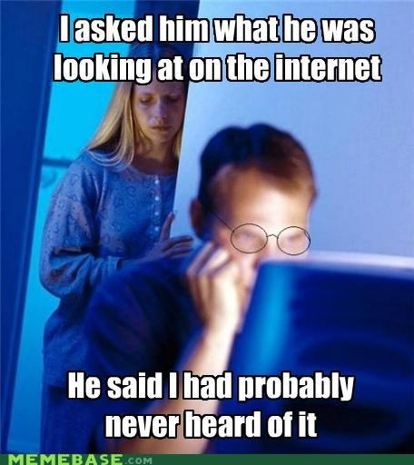 computer hipster Internet Husband wife - 4950563328