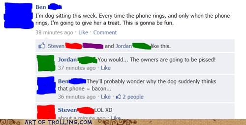 dogs,facebook,phone,treat,win
