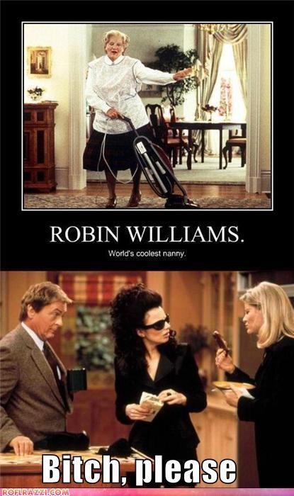 actor celeb fran drescher funny robin williams - 4951008256
