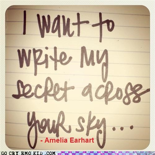 across,amelia earhart,hipsterlulz,secret,sky