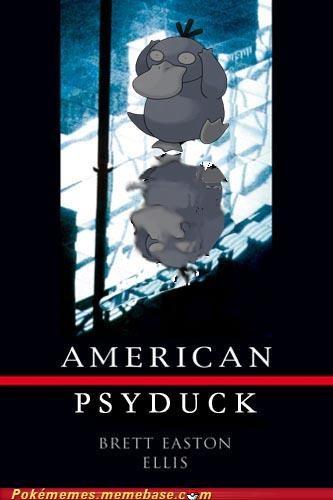 american psycho crossover Pokébooks Psyduck - 4951330560