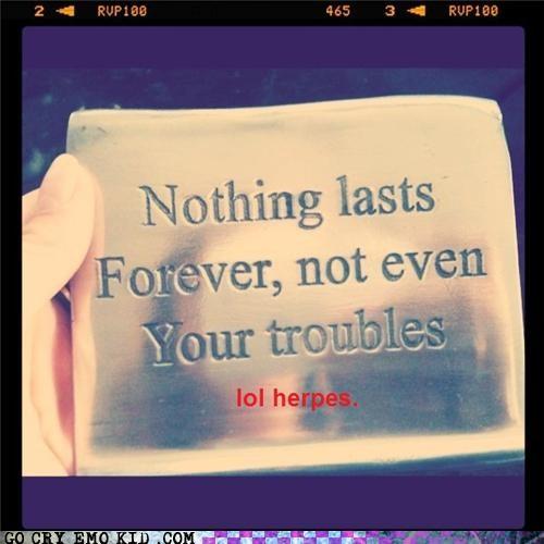 forever herpes hipsterlulz STD - 4951333120