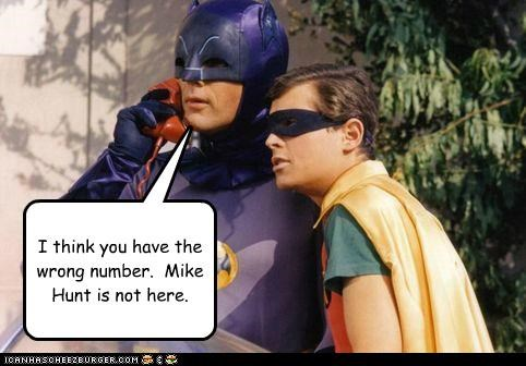 batman mike hunt prank phone call robin Super-Lols - 4951448832