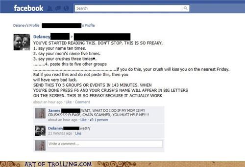 chain mail crush facebook oedipus