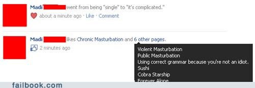 facebook likes,single,its complicated