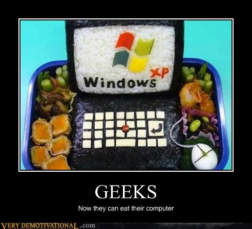 bento computer food geeks hilarious Pure Awesome - 4951938304