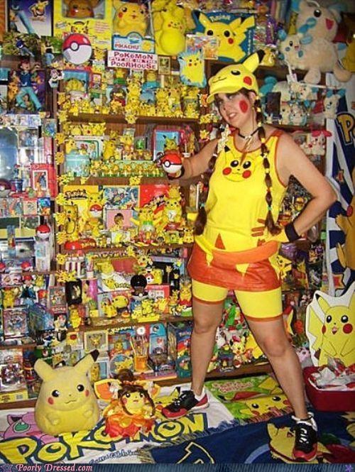 fan otaku pikachu Pokémon wtf - 4952271616