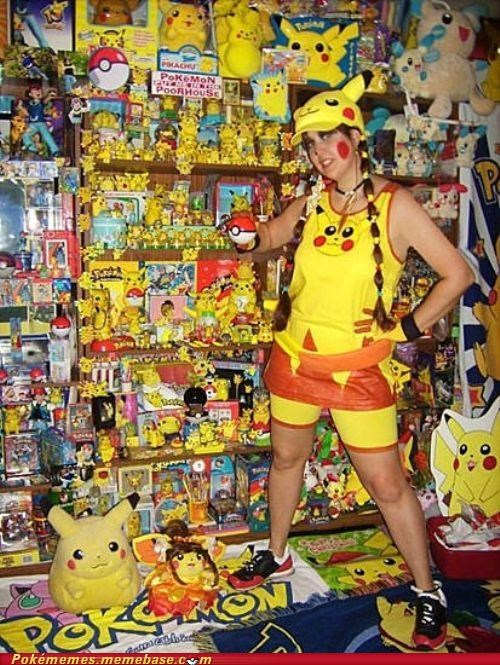 cosplay fan pikachu yellow - 4952273152