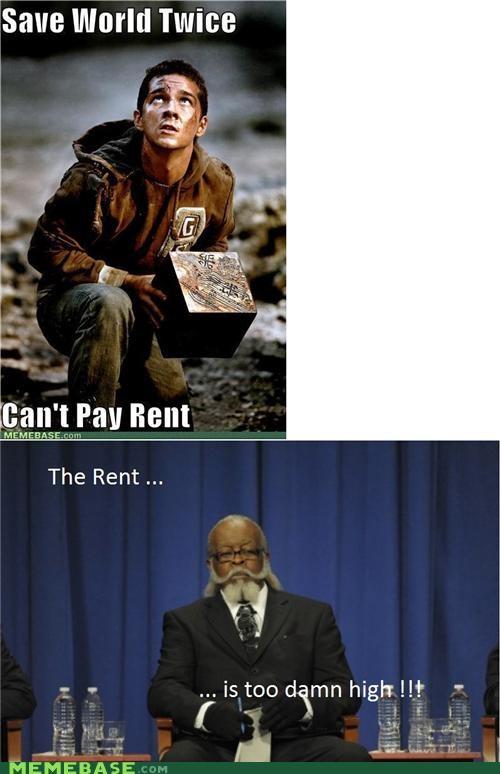 Memes Reframe rent too damn high transformers - 4952692224