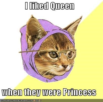 freddy mercury Hipster Kitty Music princess queen - 4952882944