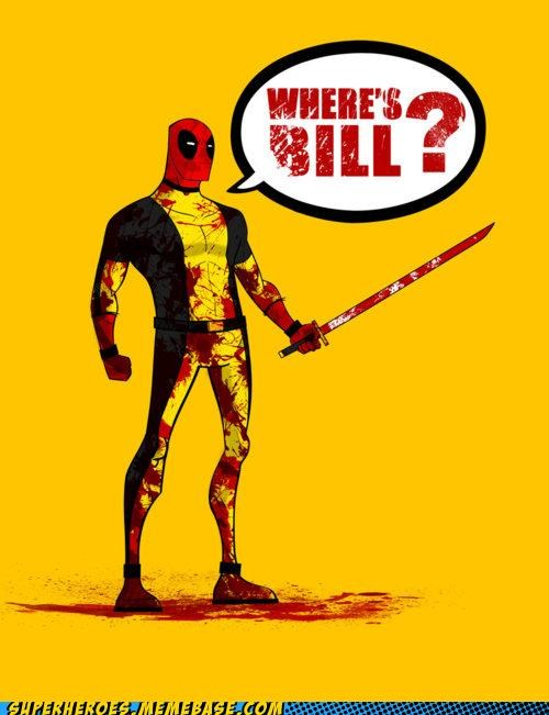 Awesome Art deadpool Kill Bill quentin tarantino - 4952964352