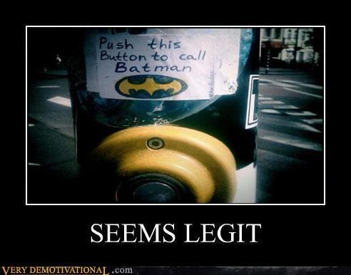 batman crosswalk hilarious seems legit signal wtf - 4953073664