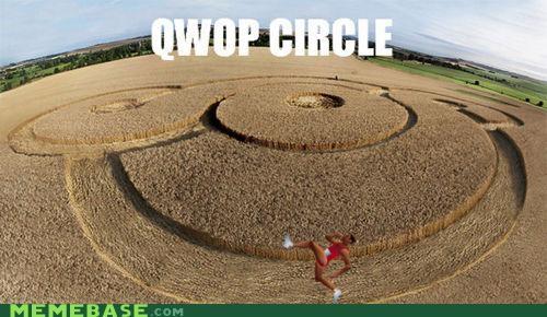 computers crop circle QWOP video games - 4953114112