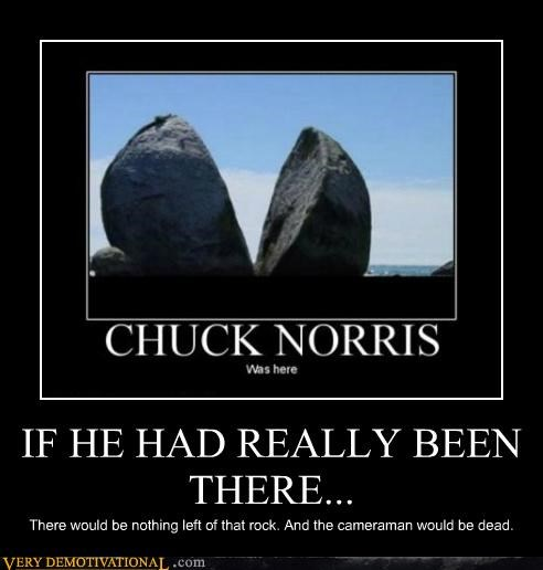 cameraman,chuck norris,destruction,hilarious,rock