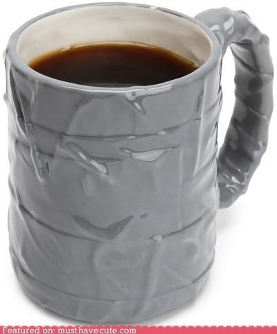 ceramic coffee cup duct tape mug - 4953252608