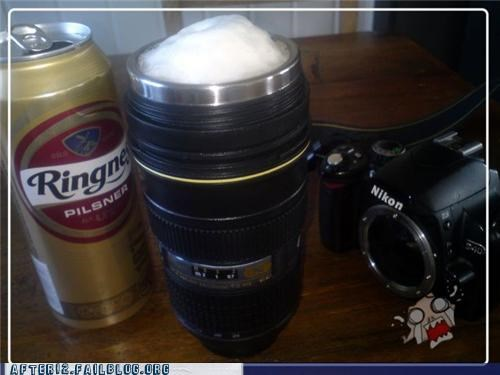 beer,camera,can,lens