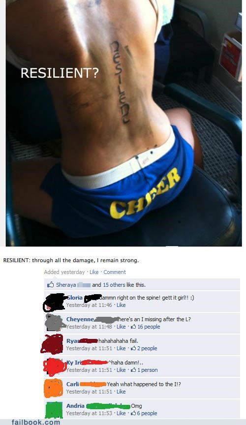 facepalm spelling tattoo your friends are laughing at you - 4953763328