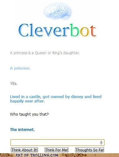 Cleverbot definition disney princess - 4954073344