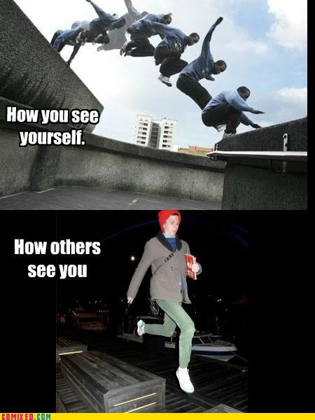hipster parkour the internets - 4954283008