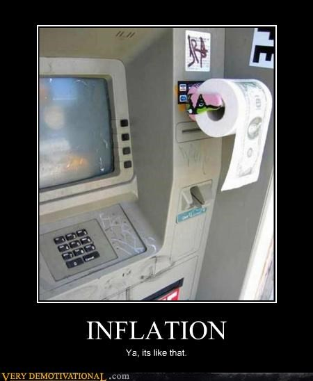 exactly hilarious inflation toilet paper