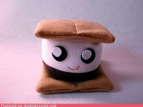 face fleece Plush smores soft - 4955782912
