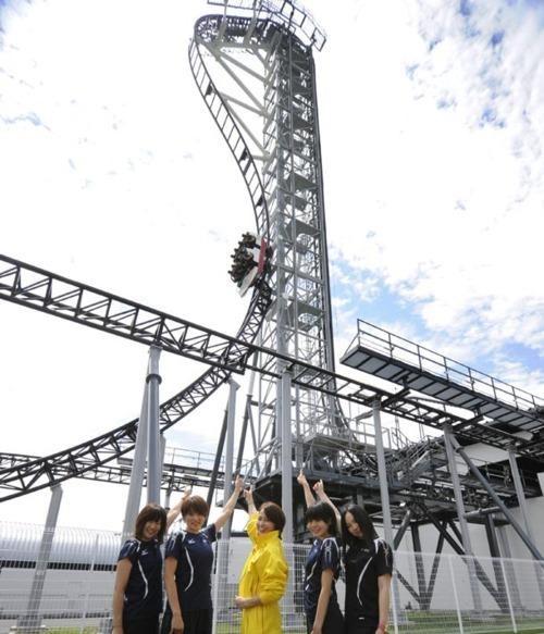 Fuji-Q Highland,Japan,roller coaster,Takabisha