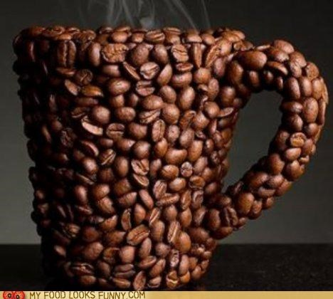 art beans coffee cup Photo steam - 4956697344
