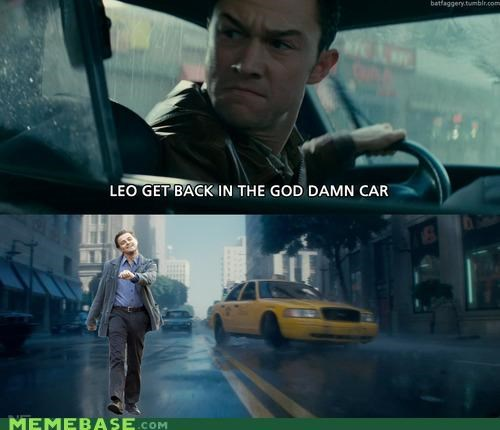 car,comix,Inception,strutting leo,taxi