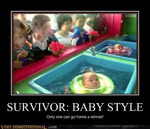 Babies hilarious Japan survivor wtf