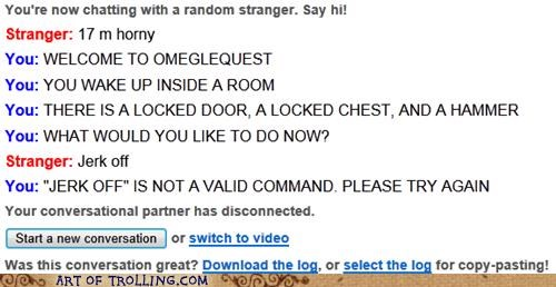 escape game naughty Omegle quest
