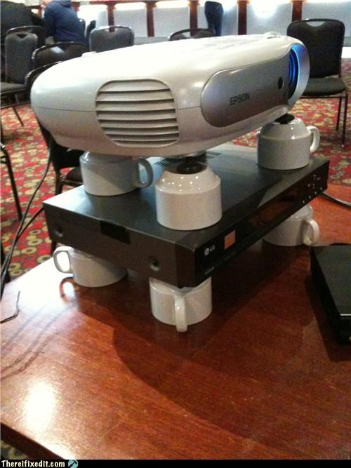 holding it up Professional At Work projector - 4958069760