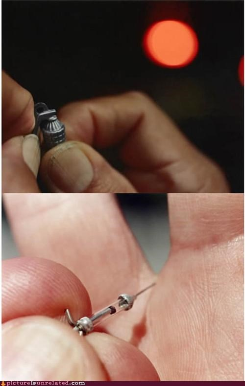 grenade little syringe wtf - 4958366720