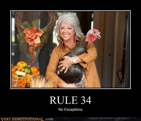 hilarious,no exceptions,paula deen,Rule 34