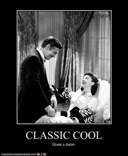 actor,celeb,clark gable,demotivational,funny,vivian leigh