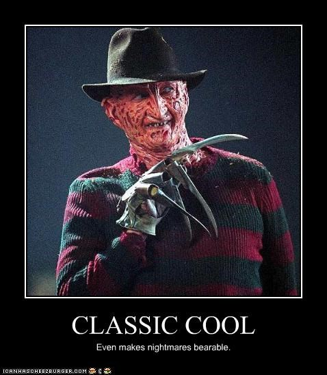 CLASSIC COOL Even makes nightmares bearable.