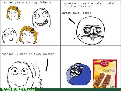 cake,i lied,me gusta,Rage Comics