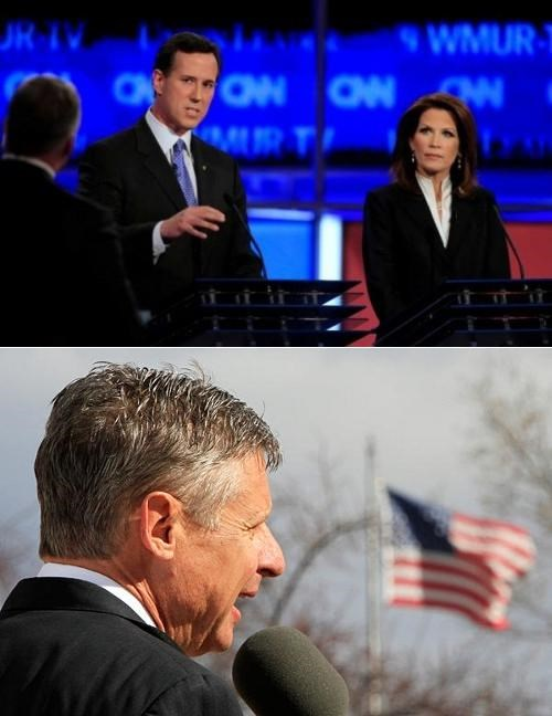 2012 Presidential Electio Follow Up Gary Johnson Michele Bachmann Rick Santorum The Family Leader The Marriage Vow - 4959135488