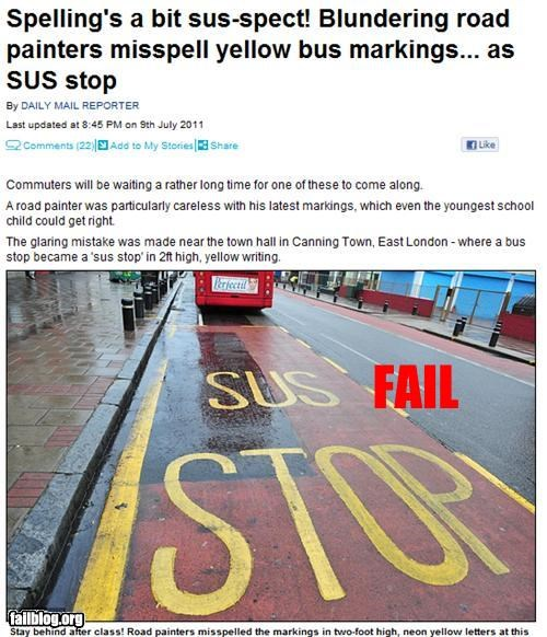bus stop,england,failboat,g rated,Professional At Work,school,spelling
