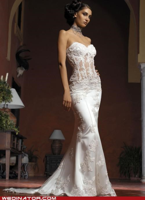 bridal fashion funny wedding photos pretty or not wedding couture wedding dress - 4960165632